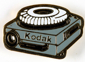 Kodak Pin's projecteur Diapositives Kodak Carousel