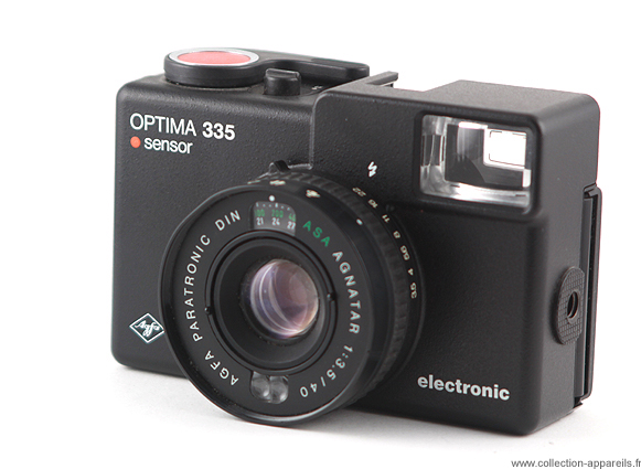Agfa Optima 335 electronic sensor