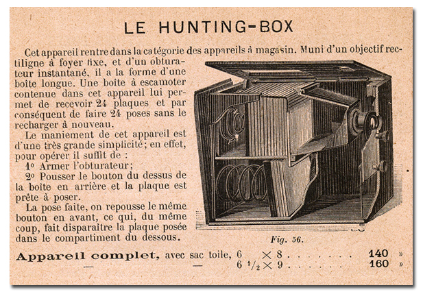 Comptoir General de Photographie Hunting-Box
