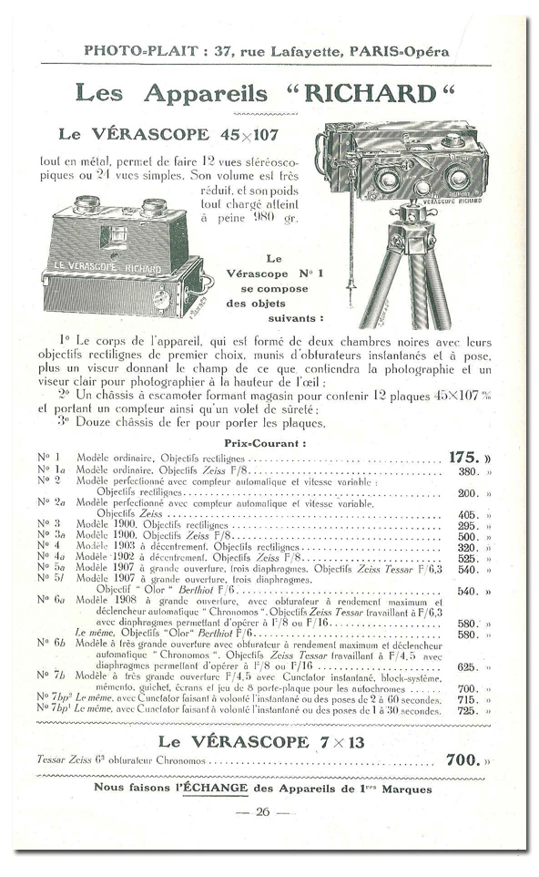 Richard Jules Vérascope n°4