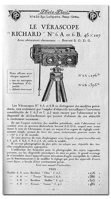 Richard Jules Vérascope n°6A