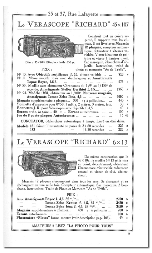 Richard Jules Vérascope n°53