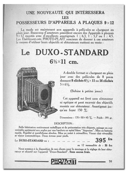 Photo-Plait Duxo Standard