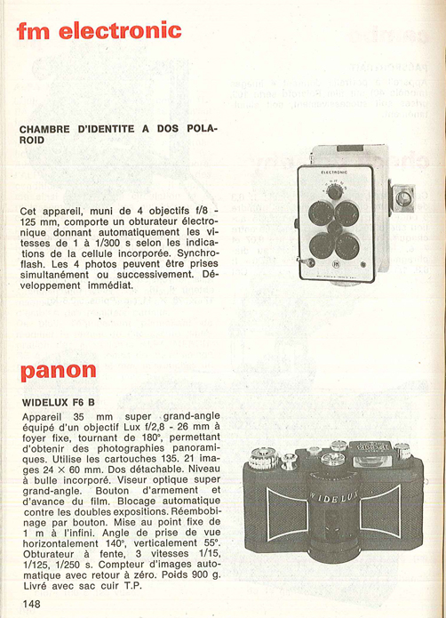 Panon Widelux F6 B