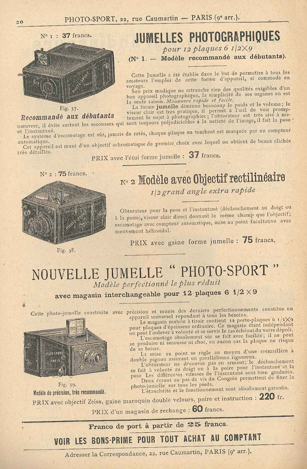 Photo-Sport Nouvelle Jumelle