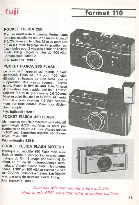 Fujica Pocket Flash AW