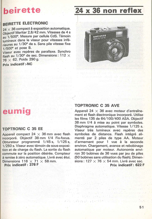 Eumig Toptronic C35 AVE