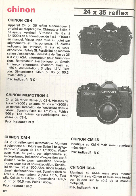 Chinon CS-4