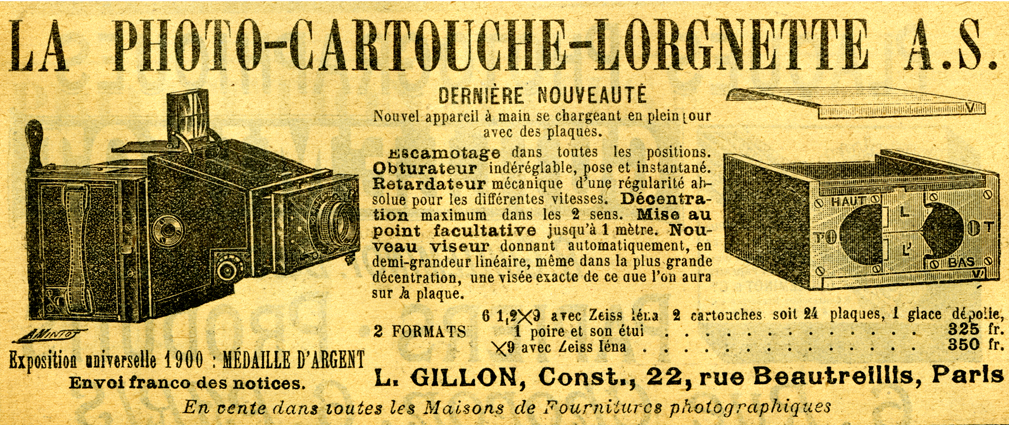Gillon Photo-Cartouche-Lorgnette