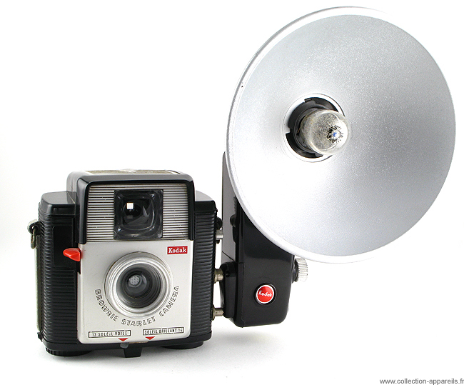 Kodak Brownie Starlet (capot superieur strie)