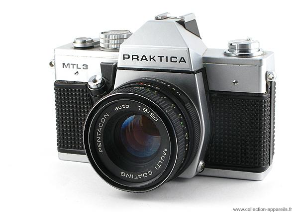 Pentacon praktica mtl3 vintage cameras collection by sylvain halgand