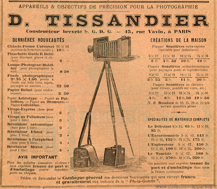 Tissandier L'explorateur