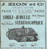 Zion Simili-jumelle stereoscopique