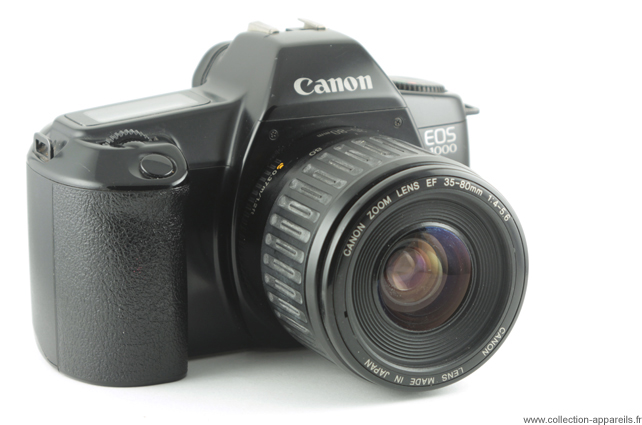 f49faadaf8e44 Canon EOS 1000 Collection appareils photo anciens par Sylvain Halgand