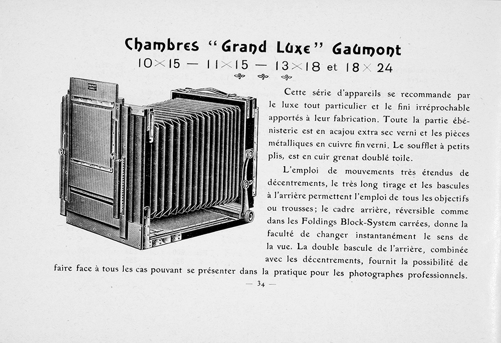 Gaumont Chambre Grand Luxe