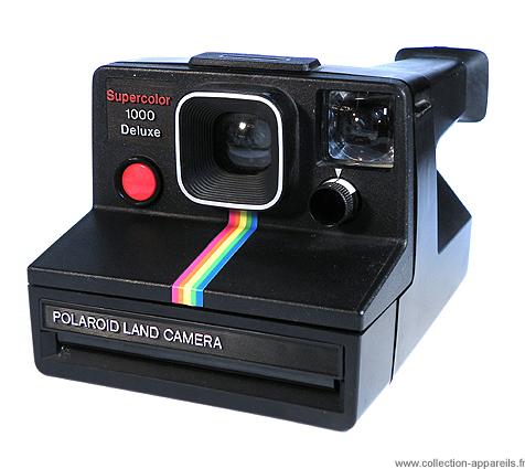 27976d2342b5fa Polaroid Supercolor 1000 Deluxe Collection appareils photo anciens par  Sylvain Halgand